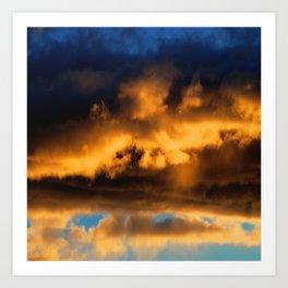 Sunset #182 Art Print