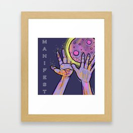 *Manifest* Framed Art Print