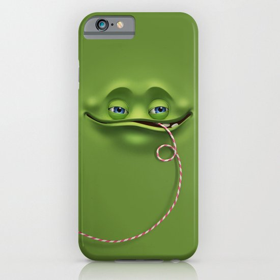 Joyful face iPhone & iPod Case