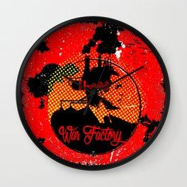 War Factory Wall Clock