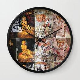 Nat Jaw Wall Clock