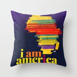 i am america. Throw Pillow