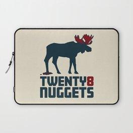Moose Nuggets Laptop Sleeve