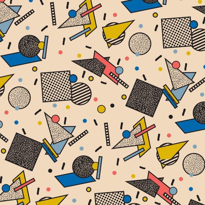 Memphis Inspired Pattern 7 Duvet Cover