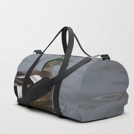 American Wigeon - Male Duck Duffle Bag