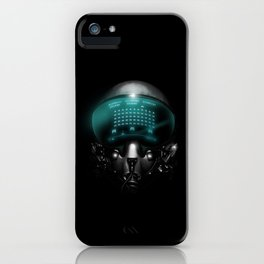 Space Invasion iPhone Case