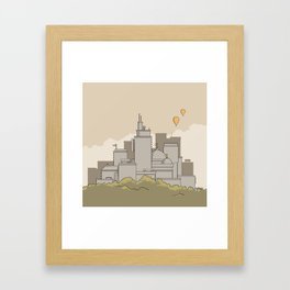 City #3 Framed Art Print