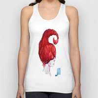 scorpio Tank Tops featuring Scorpio by Aloke Design