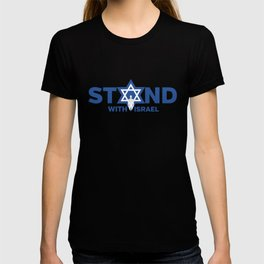I Stand With Israel - Star Of David Jewish Support T-shirt