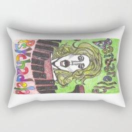 Barbarella Psychadela! Rectangular Pillow