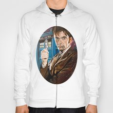 The Tenth Doctor and His TARDIS Hoody