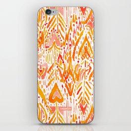 WARRIOR FIRE TRIBAL iPhone Skin