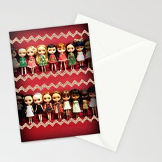 Collection dolls Stationery Cards