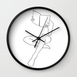 Reading Naked n.3 Wall Clock