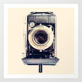 Vintage Kodak Monitor Six-20 Film Camera 1948-1951 Art Print