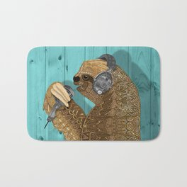 Sloth Song Bath Mat