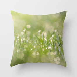 Microcosmos Throw Pillow