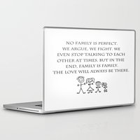 family Laptop & iPad Skins featuring Family by Frankie Cat