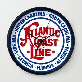 Atlantic Coast Line Wall Clock