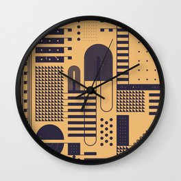 ELEKTRISCH Wall Clock