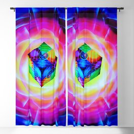 Abstract in perfection Blackout Curtain
