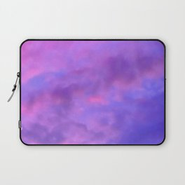 Purple Clouds Laptop Sleeve