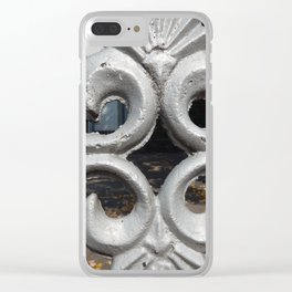 Details of the classic architecture of windows and doors Clear iPhone Case