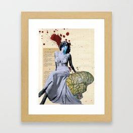 Rumbo a peor Framed Art Print