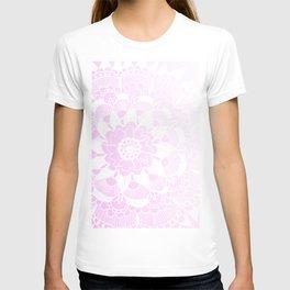 Bohemian Chic and Pretty in Pink Mandala T-shirt
