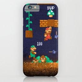 Mario Super Bros iPhone Case