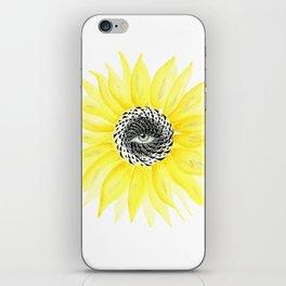 The Sunflower Eye iPhone Skin