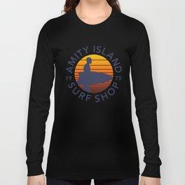 Amity Island Surf Shop Long Sleeve T-shirt