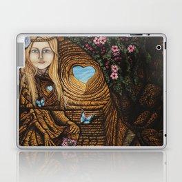 Regarde moi et l'amour suivra Laptop & iPad Skin