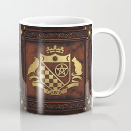 Cabot Gold Embossed Collection Coffee Mug