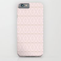 Pink Geometric Lines Slim Case iPhone 6s
