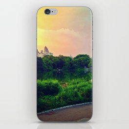 Daydream in central park iPhone Skin