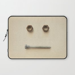 the Forgotten Workshop series- Bolt & Nut Laptop Sleeve