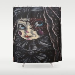 Jaded Art Shower Curtain