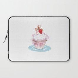 Strawberry Cupcake  Laptop Sleeve