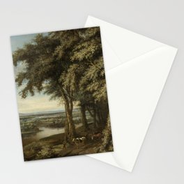 Philips Koninck - The entrance to the woods Stationery Cards