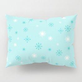 AFE Turquoise Snowflakes Pillow Sham