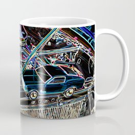 The engine of a sports car Coffee Mug