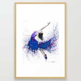 Evening Sky Dancer Framed Art Print