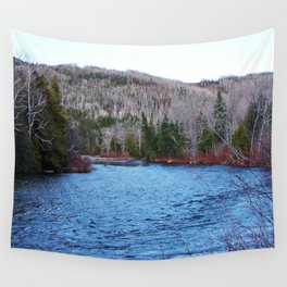 River in Nature Wall Tapestry