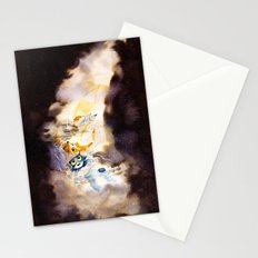 Little Owl Boy and the Milky Way Stationery Cards