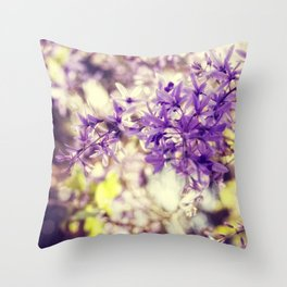 The Light is a Bringer of Beauty Throw Pillow