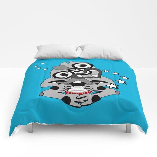 Hei Tiki New Zealand Drum Comforters