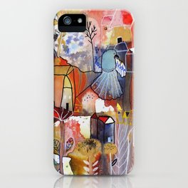 to be happy iPhone Case