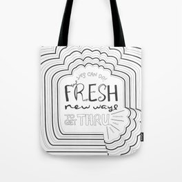 Fresh New Ways – Grey Tote Bag