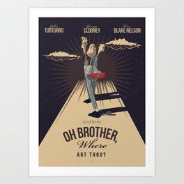 O Brother, Where Art Thou? (2000) Art Print